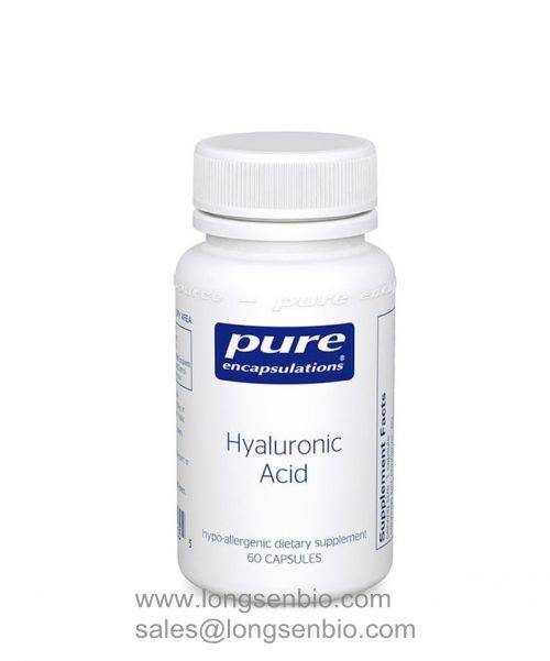 Pure Hyaluronic Acid Capsules 100% high quality