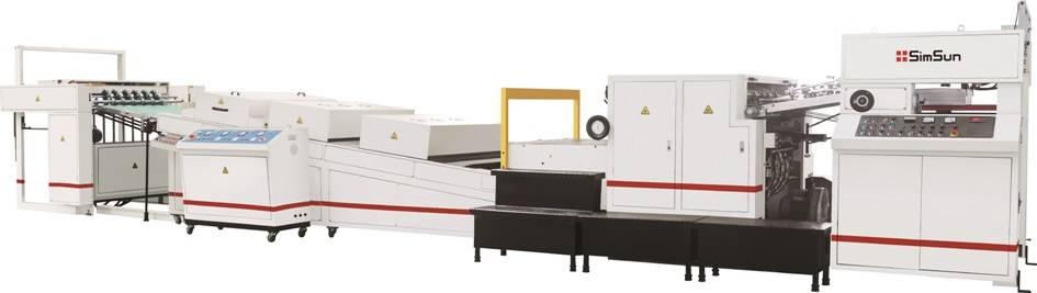 High Speed Spot UV Coating Machine (Spot UV Coater) Alpha-104