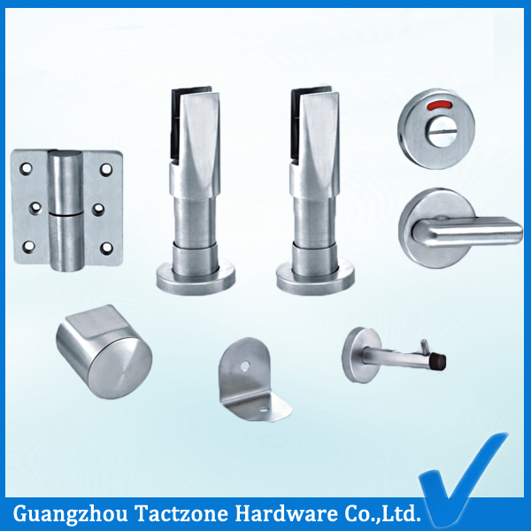 Top Quality 304 Ss Bathroom Cubicle Partition Hardware Toilet Accessory