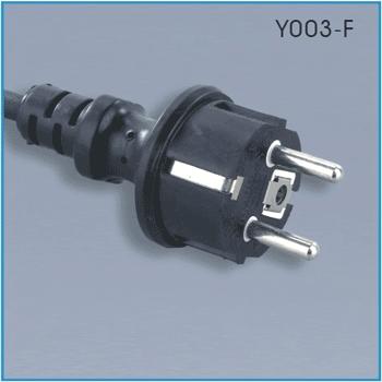 Europe waterproof power cord (CEE 7/7)