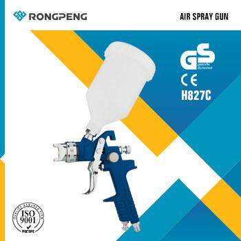 RONGPENG High volume low pressure Air spray gun, lightweight H827-C
