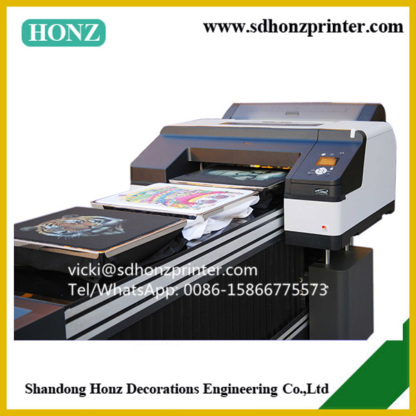 CE approval DTG direct to garment printer A2 size