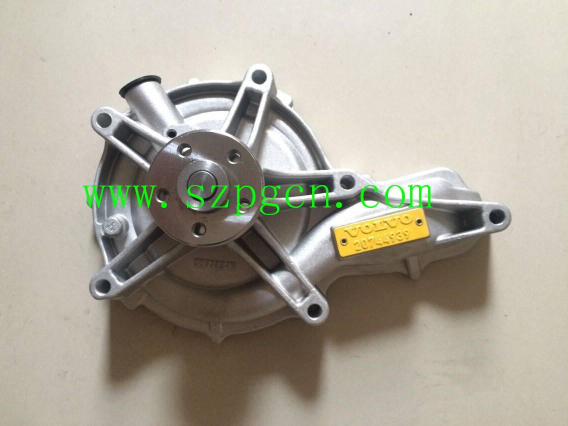 China Supplier VOLVO 20744939 Water Pump for Excavator