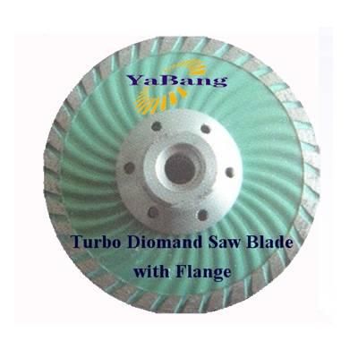 Turbo Diamond Saw Blade with flange