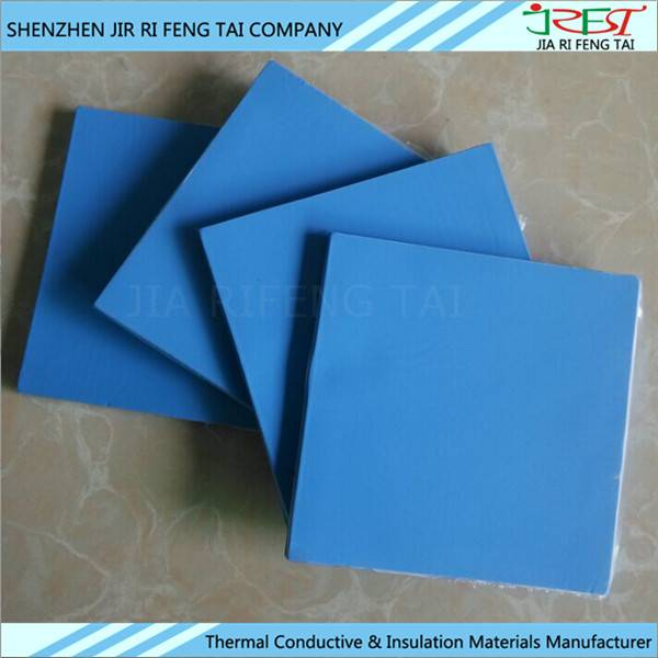 200mm*400mm 300mm*300mm Thermal Conductivity Insulation Silicone Gap Pad For LED/Lighting device/etc