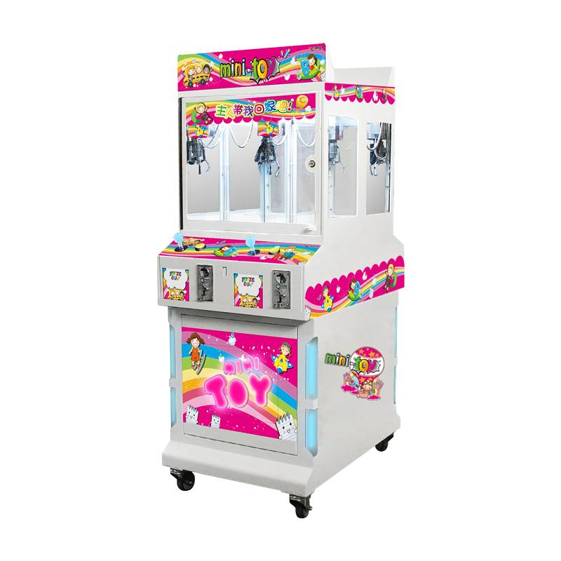 Mini toy(4players) amusement machine crane game machine gift machine prize claw
