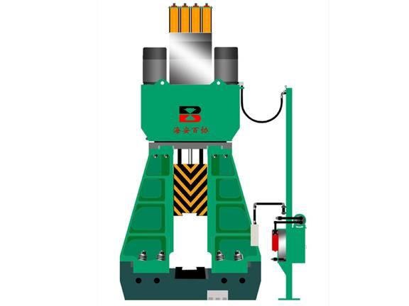 PLC fully hydraulic die forging hammer