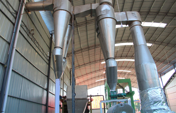 Stainless steel industrial starch dryer