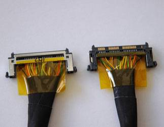 LCD PANEL DISPLAY INTERFACING CABLE