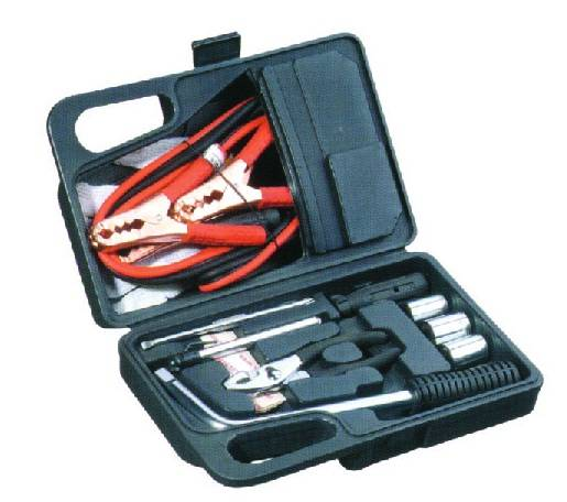 30PC Roadside Car Emergency Tool Kit with Flashlight