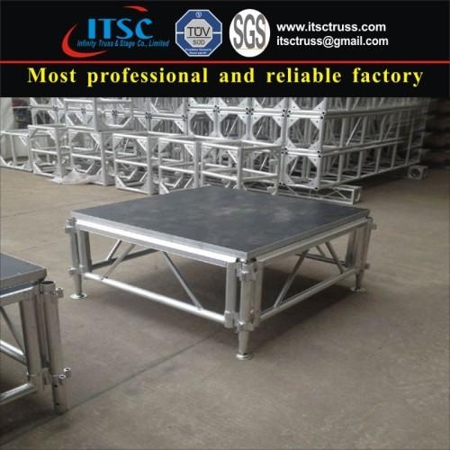 1.22X1.22 m Aluminum stages