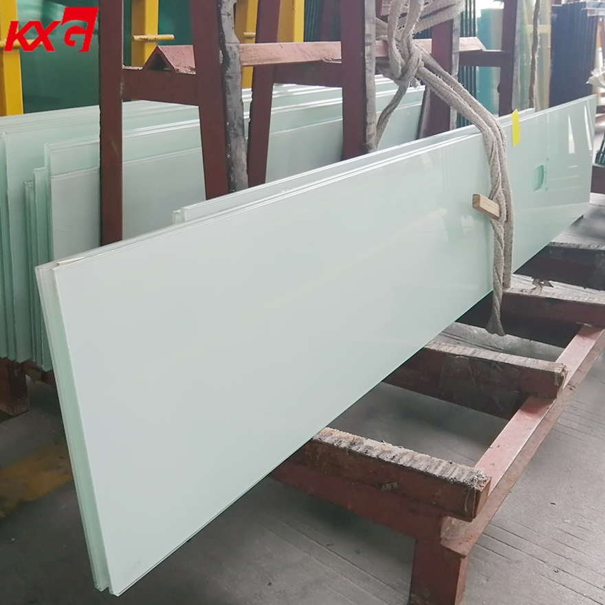 8.76mm White PVB Film Laminated Glass Factory Ultra Clear Tempered Laminated Glass for Decoration