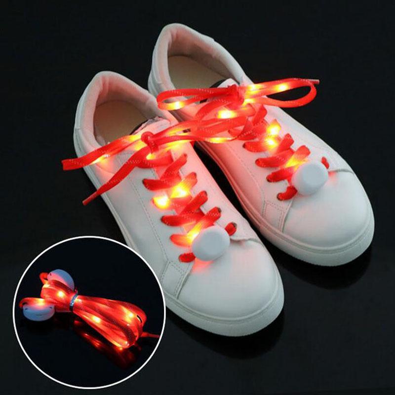 LED shoe laces Flashing shoe laces glow shoe laces China manufacturer supplier led flashing shoelace