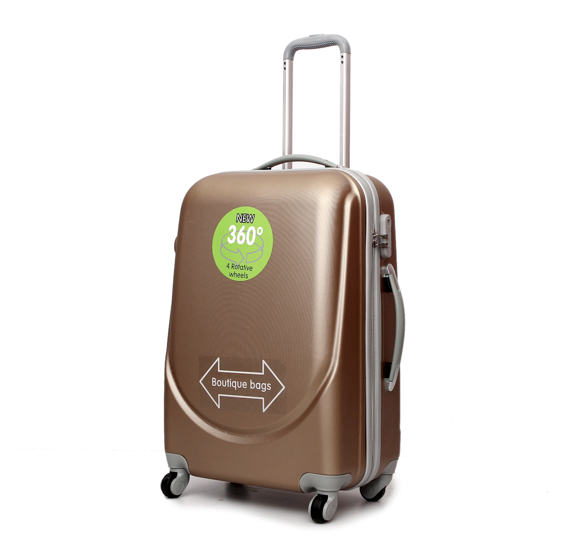 3pcs travel luggage factory price suitcase trolley bag