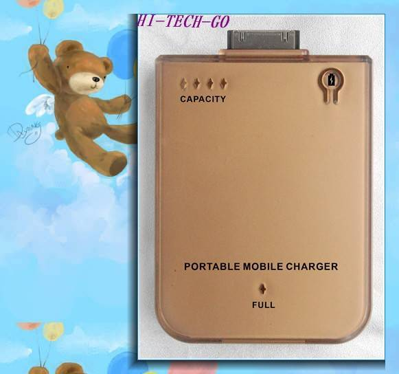 cell phone charger,emergency cell phone charger/ 2800mAh External Battery Charger For iPod iPhone 3G
