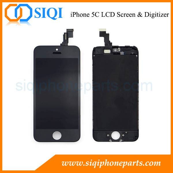 High Quality Replacement Screen For iPhone 5C (Black)