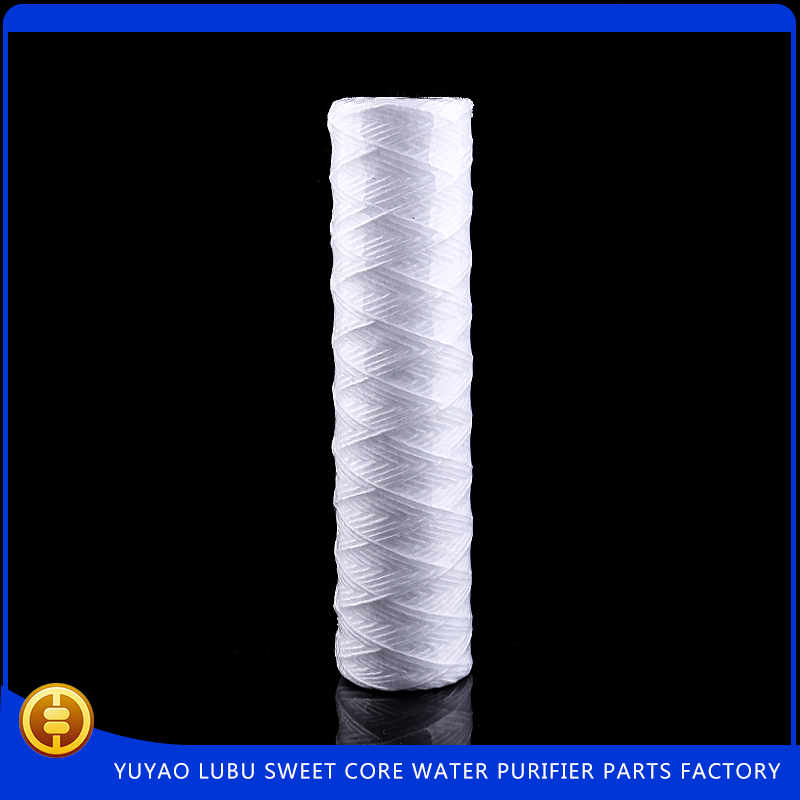pp yarn string wound filter cartridge for water treatment