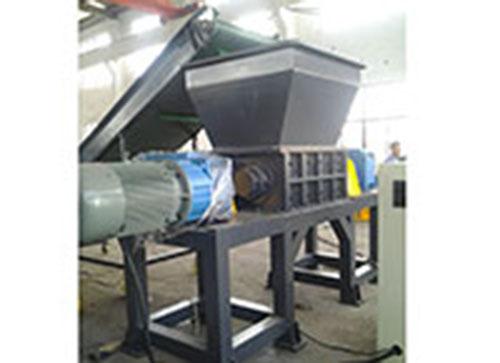 KL-800 Double-Shaft Plastic Shredder Machine