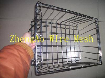 metal cleaning baskets factory