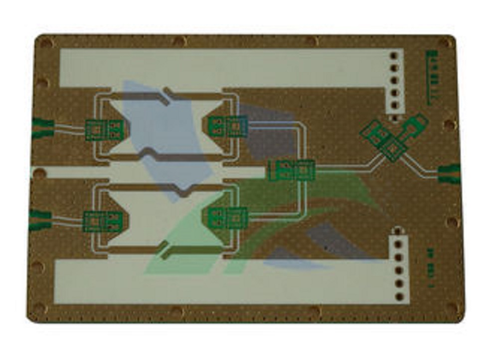 4 Layer Rogers Ro 3000 Automotive Radar Pcb With Low Z-axis CTE (24 ppm/C)