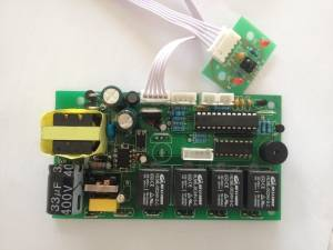 Output 24VDC fireplace Remote Control mainboard parameters and functions