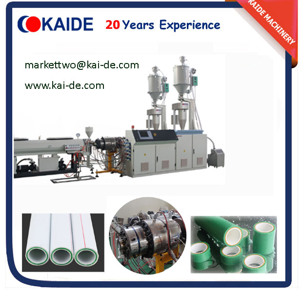 Glassfiber PPR Pipe Making Machine (Whatsapp 86-13705369780)