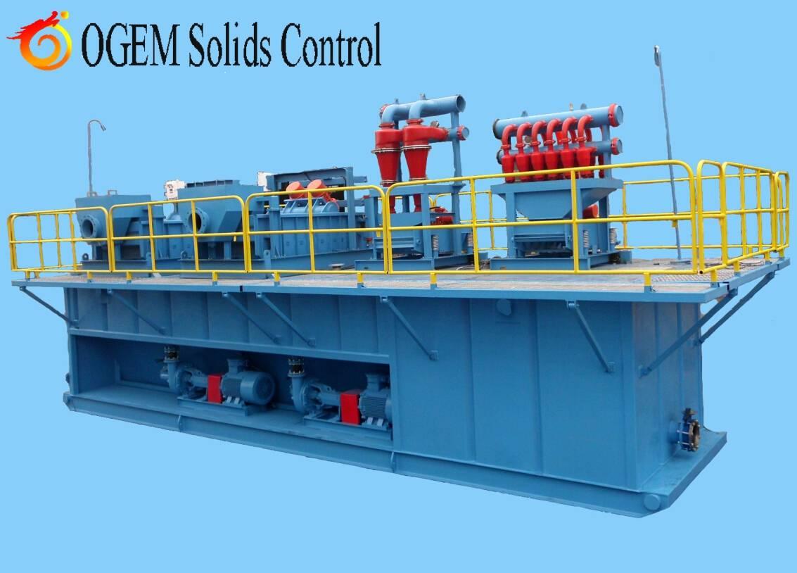 Dredging Slurry Separation Solids Control System