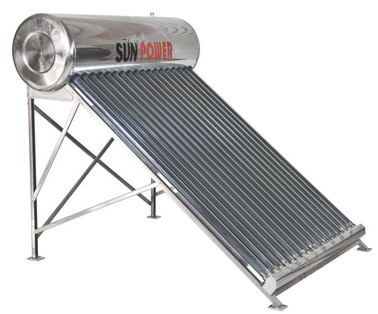 SP-C Integrated lower pressure Solar water heater