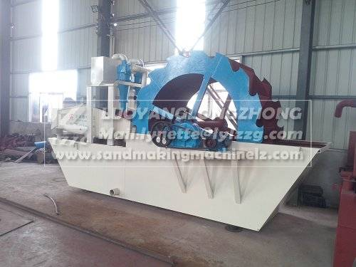 Gold refining ore sand recycling and washing equipment