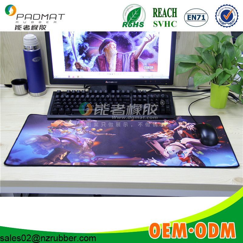 Unique OEM custom design Gaming mat/speed control game playmats