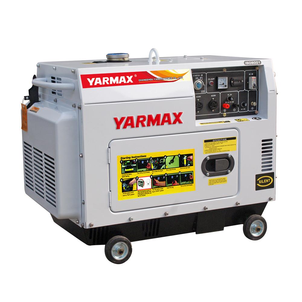 6.5kVA Economic Silent Type Diesel Generator 6500T Series