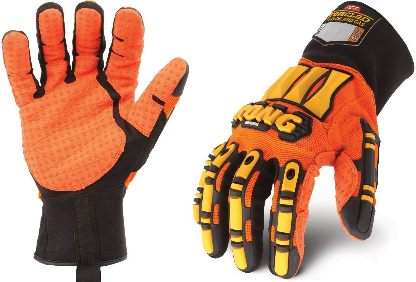 kong Ironclad original IPWSdx2 Working Gloves Oil and Gas industrial Impact Gloves TPR Protection Gl