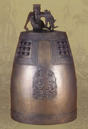 Temple bell (Model Number : Seonrimwon Bell)