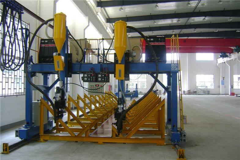 LHA Gantry type H-beam Automatic Welding Machine