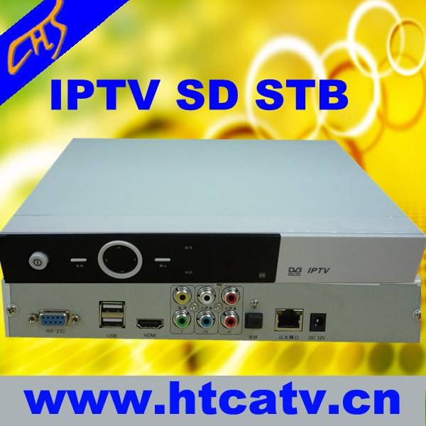 HD H.264 IPTV Receiver STB