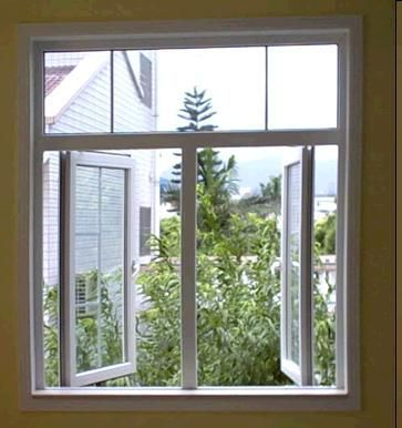 Hot sale cheap price UPVC casement window