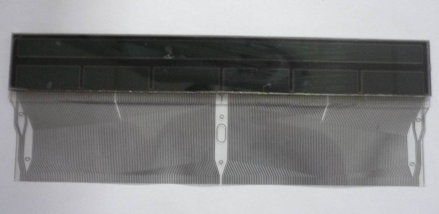 BMW E38 E39 x5 MID Radio LCD Display with Pixel Ribbon