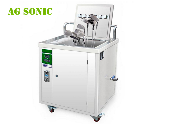 AG SONIC 49L Self Service Ultrasonic Golf Club Cleaner with Token , Counter , Timer , Thermostat