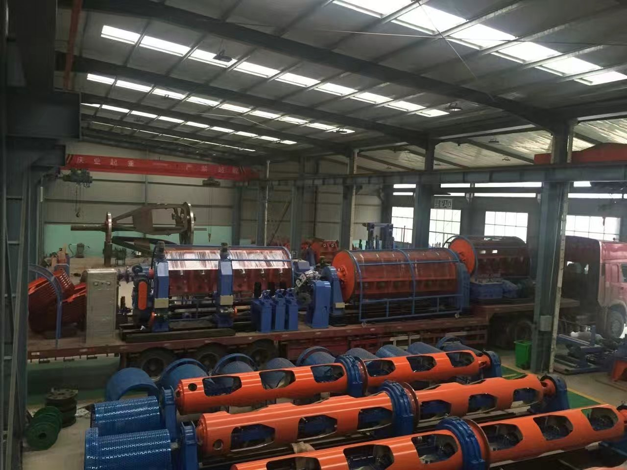 Copper and Aluminium Wire&Cable Stranding Machine