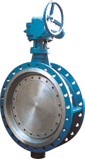 API 609 carbon steel triple offset flanged butterfly valve