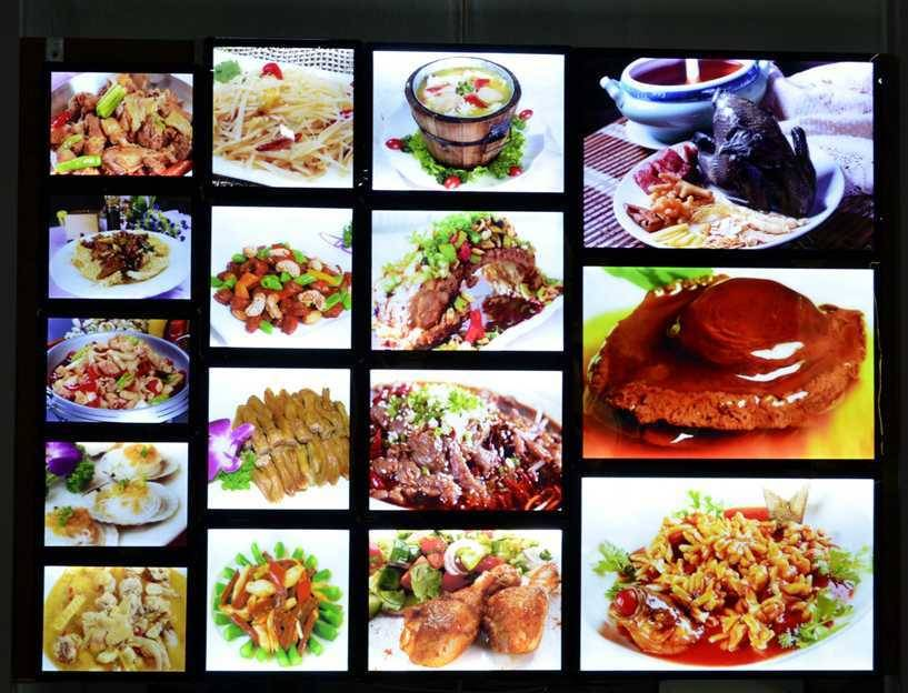 no wire strong magnetic order food menu led board light box