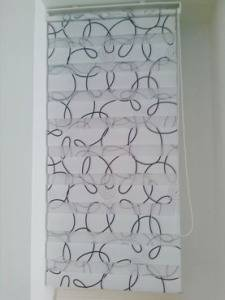 Custom-Made Sunshade Zebra Blind Double-Layer Roller Blind