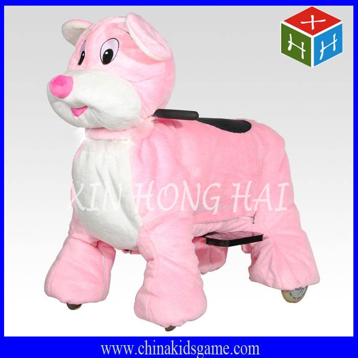 Popular kids game machine, remote control electric animal ride
