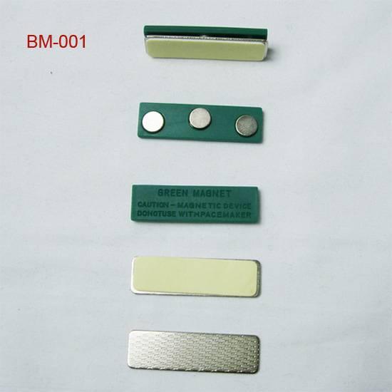 magnetic name badge fasterns, badge magnets