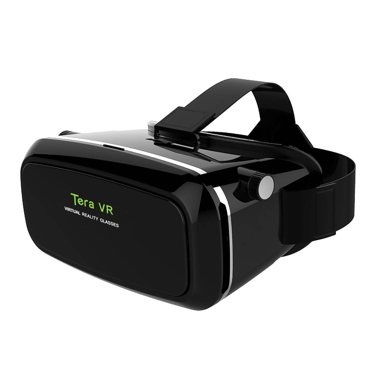 "3D VR Shinecon Virtual Reality Glasses Box Cardboard for 3.5""-6"" iPhone Samsung"