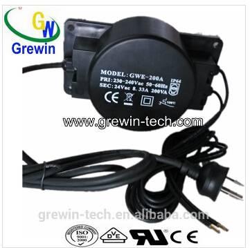Grewin 220v 600va toroidal power transformer with plug