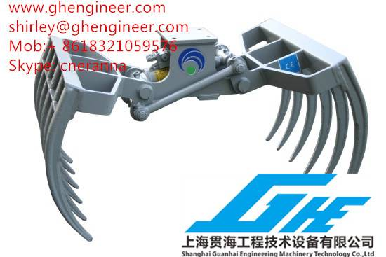 Hydraulic Multifunctional Grab for Excavator