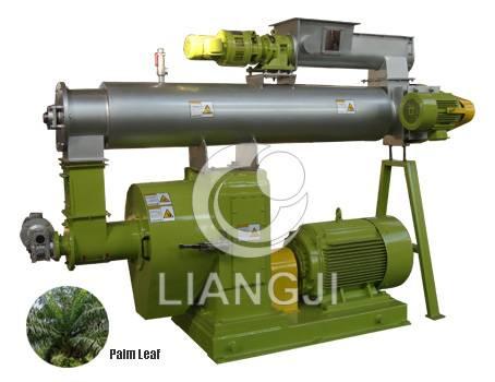 Ring Die Palm leaf granulator