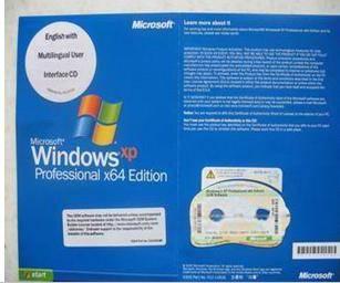 windows xp prfessional 64bit oem