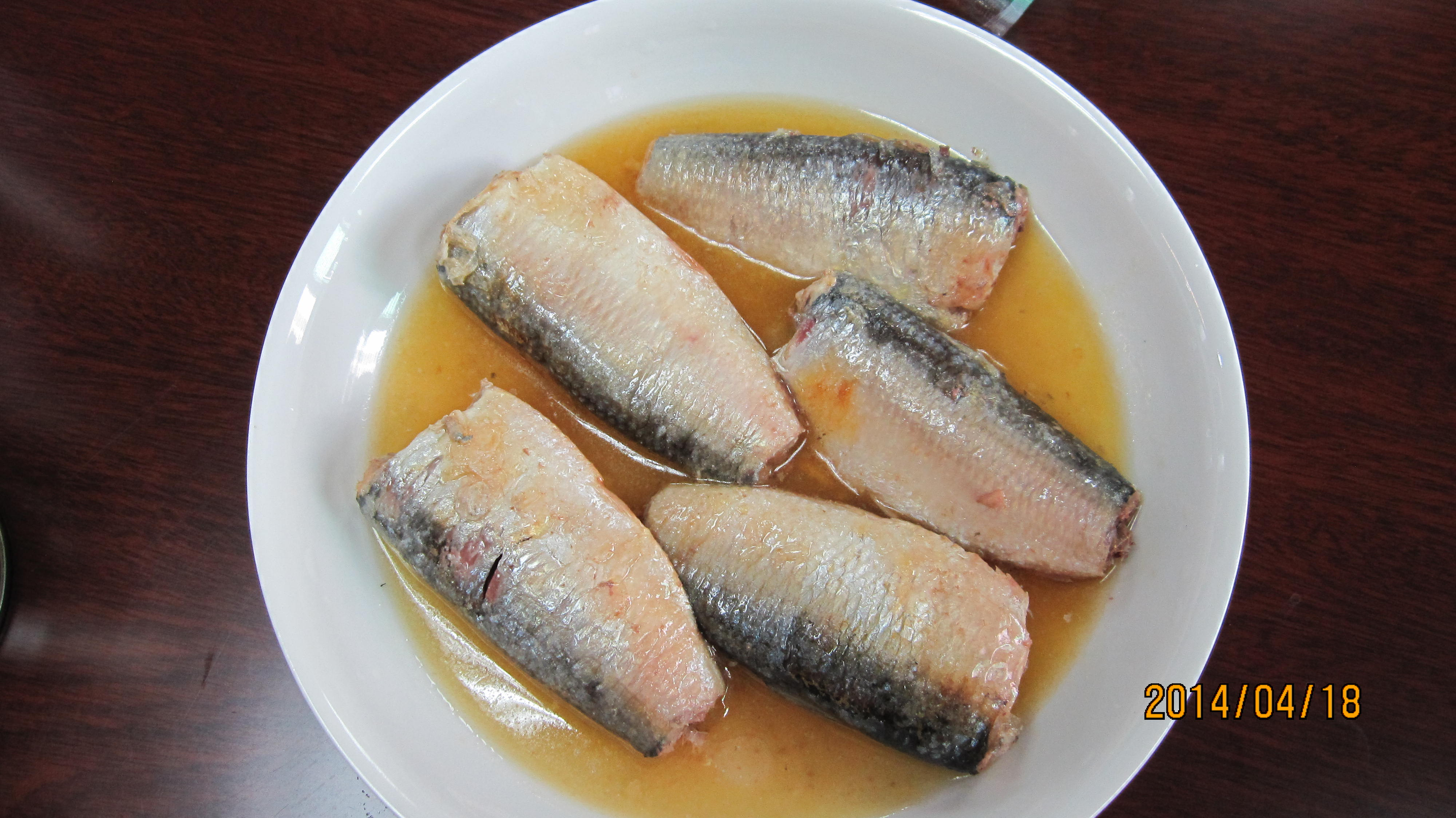 425g/240g canned sardine pilchardus in vegetable oil
